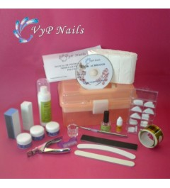 Kit Polvos Acrílicos Start VyP Nails.