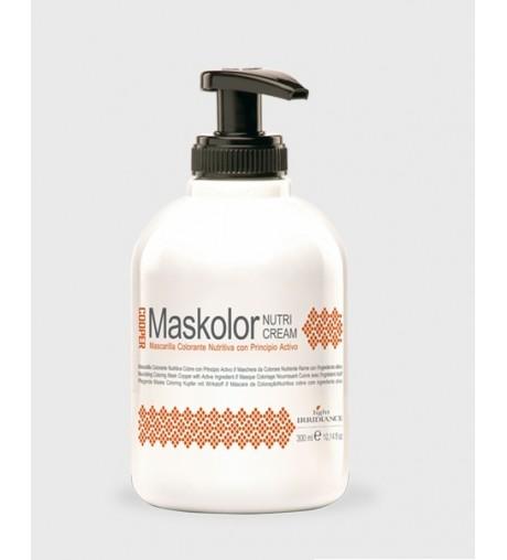 Mascarilla Colorante Nutritiva Maskolor Light Irridiance 300 ml.