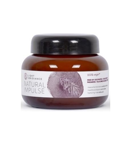 Mascarilla Hidratante Natural Impulse Light Irridiance 250 ml.